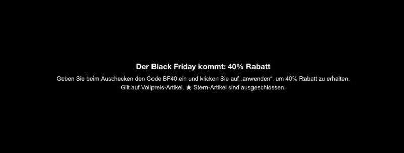 Luisaviaroma Black Friday
