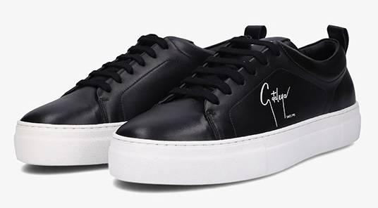 Samra Sneaker Cataleya schwarz
