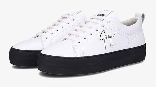 Samra Sneaker Cataleya weiss