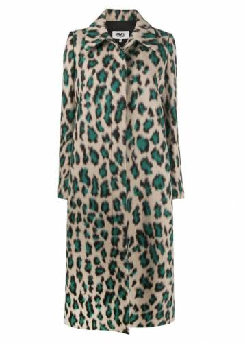 Maison Margiela Leopard Mantel