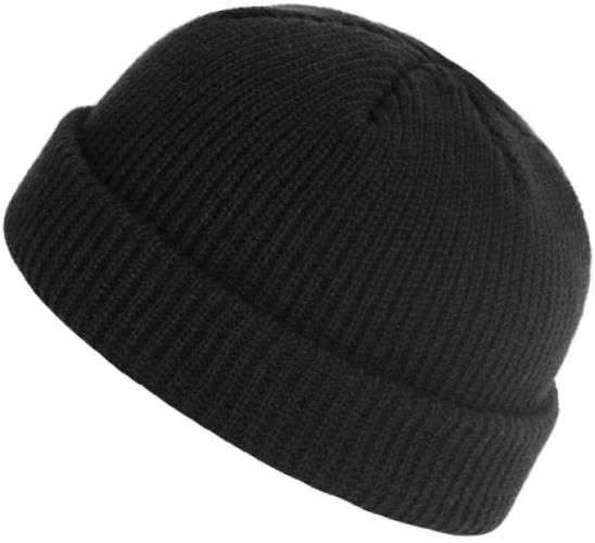 Sole Mütze schwarz