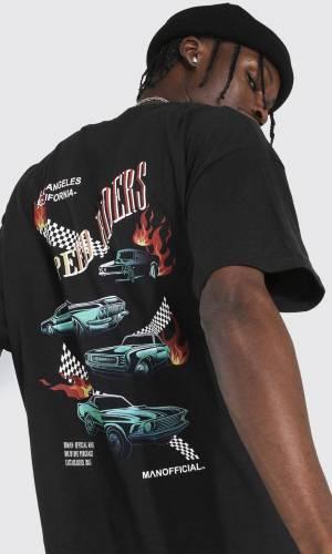 Jamule Back Print T-Shirt Alternative