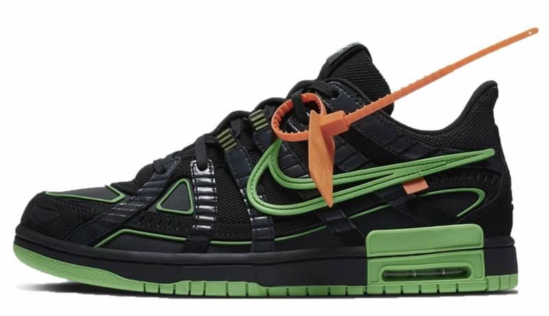 Lil Lano Nike x Off White schwarz grün
