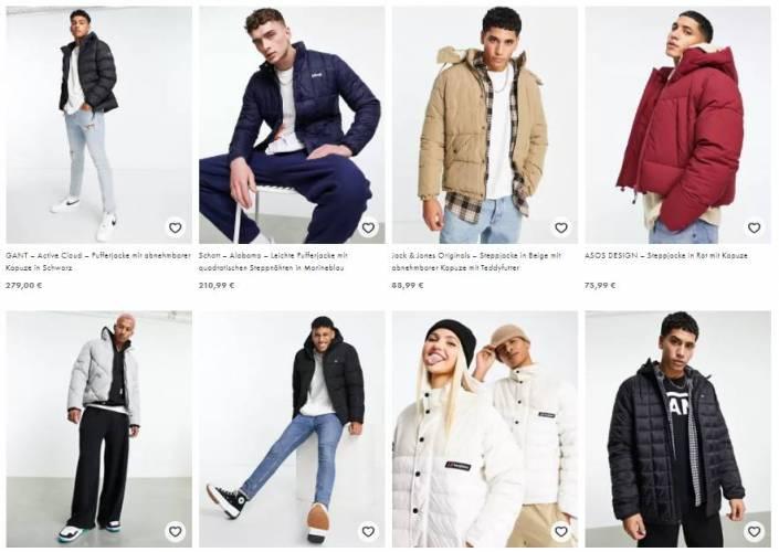 Asos Herren Jacken und Mantel Kollektion