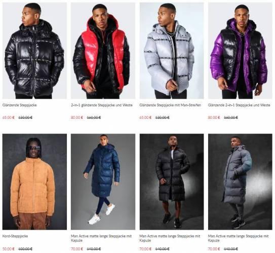 Boohoo Puffer Jacket Sale