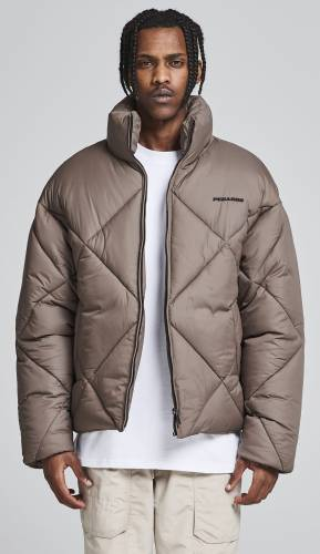 Labin Quilted Puffer Jacket Fossil