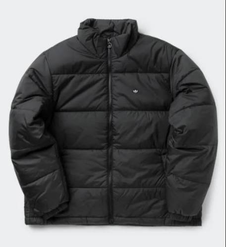 Padded Stand Up Collar Puffer Jacket