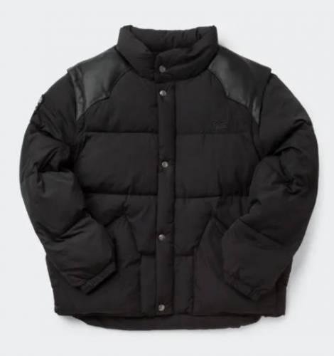 Zip Off Sleeve Puffer Jacket